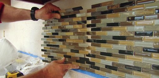 How To Install A Mosaic Tile Backsplash | Today'S Homeowner
