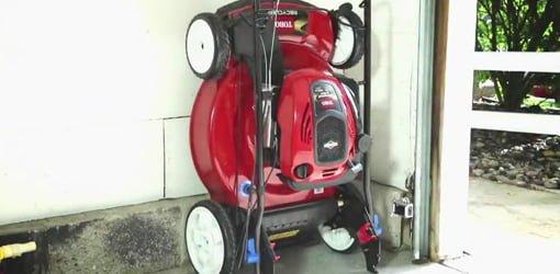 Toro Smartstow Vertical Storage Lawn Mower Today39s Homeowner