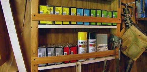 Patio Storage Shelves DIY Workshop or Garage Storage Shelves | Today's Homeowner