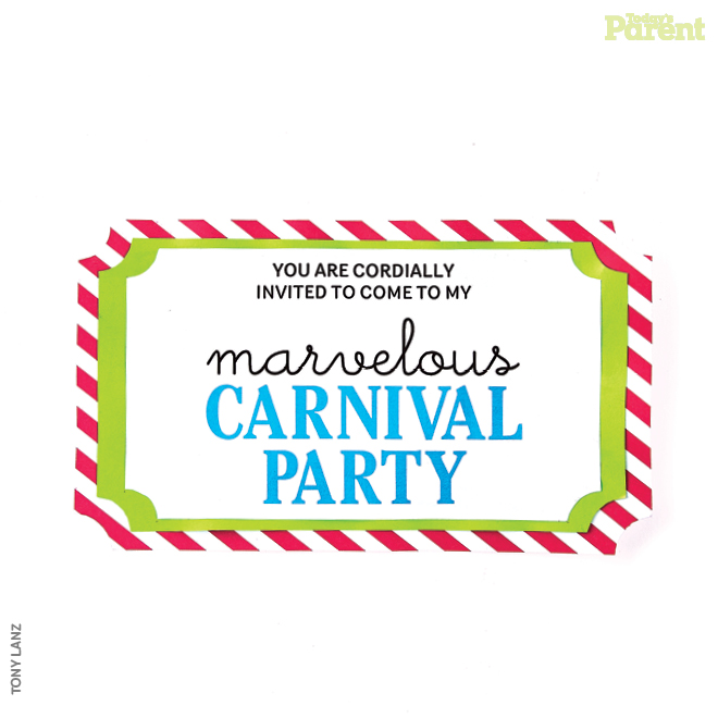Carnival party invitation printable - Today\u0027s Parent