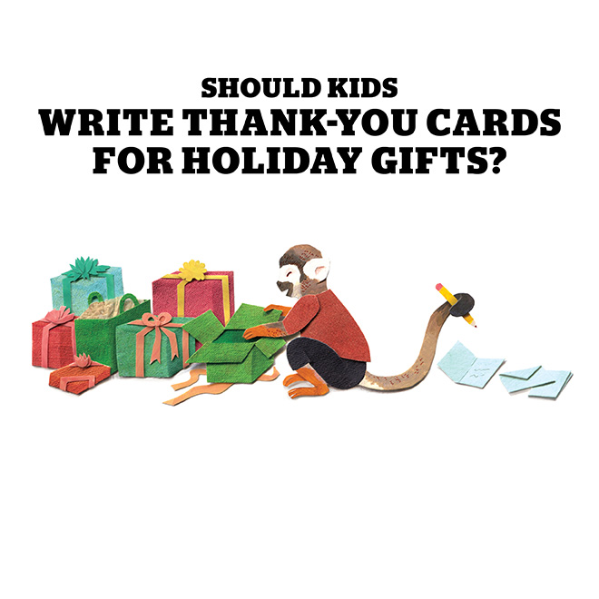 Should kids write thank-you cards for holiday gifts? - Today\u0027s Parent