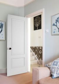 Iris 2-Panel White Bespoke Door | Internal Doors | Charles ...