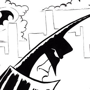 Batman Catches the Cat...burglar