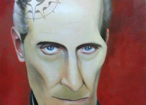 Oil Painting - Grand Moff Tarkin (Peter Cushing)
