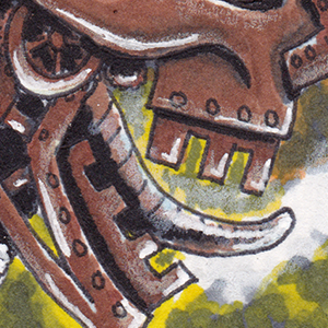 Sketch Card - Machine Head