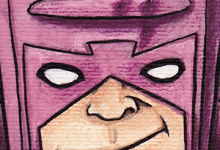 Watercolor Galactus