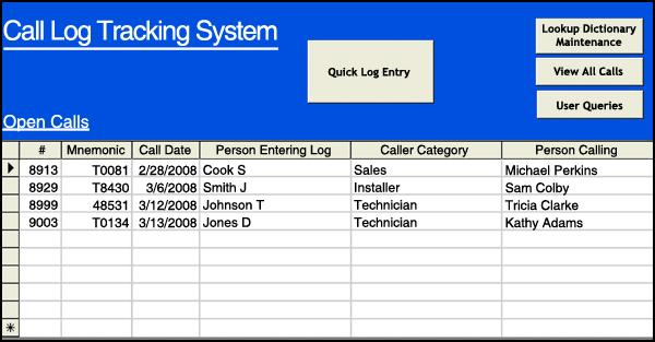 Case Study Develop a Great Call Logging and Tracking System
