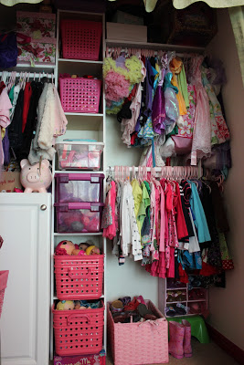 Girls Closet via www.toddlertrails.com