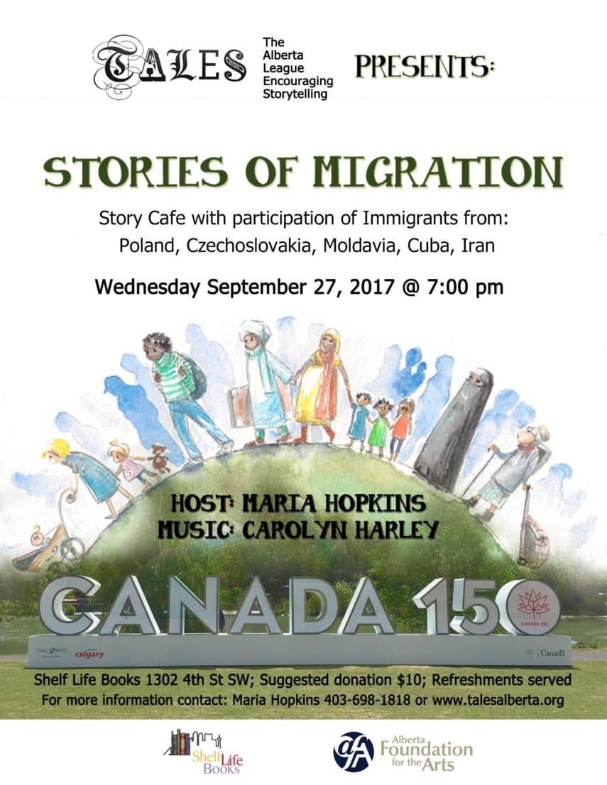 Stories Of Migration Shelf Life Books 1302 4 St Sw