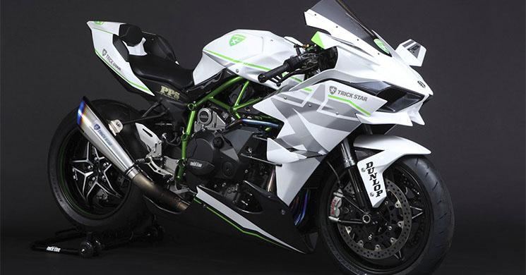 Kawasaki Wallpaper Hd Kawasaki Ninja H2r Trick Star Blanco De Todas Las Miradas