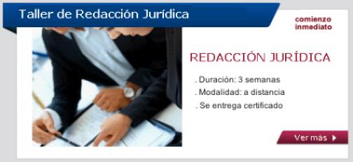 Taller de Redacción Jurídica