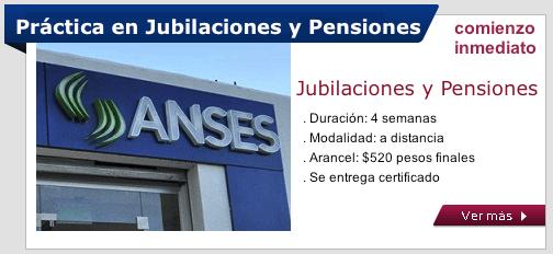 Práctica en Jubilaciones y Pensiones