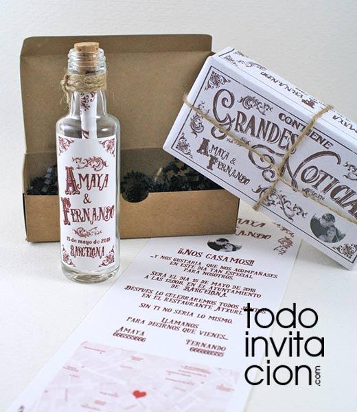 100 plantillas de invitaciones de boda gratis para descargar e imprimir