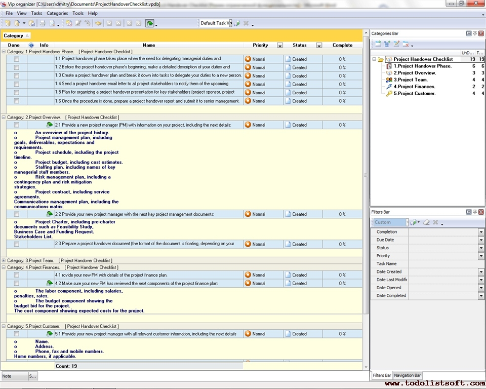 project manager task list template - Minimfagency - project contact list template