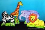 Como hacer animales de papel que permanecen en pie