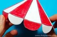 carpa circo papel
