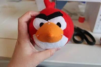 como hacer muñecos angry birds