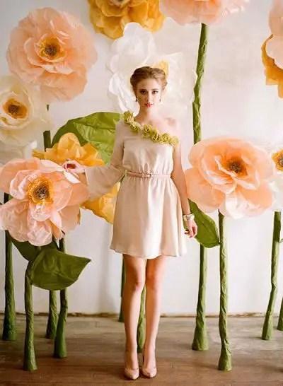 flores de papel tisu