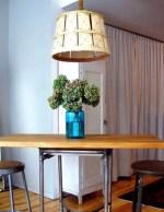 Como hacer una lampara con una canasta