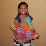 Como hacer un almohadon con patchwork