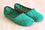 Como hacer pantuflas a Crochet