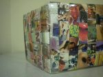 Como hacer una cartera reciclada con revistas