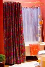 Como hacer cortinas de baño