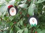 Como hacer adornos de navidad caseros: pingüinos de fieltro
