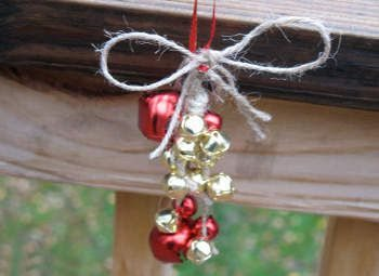 como hacer colgantes navideños