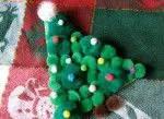 Como hacer un arbol navideño colgante con goma eva