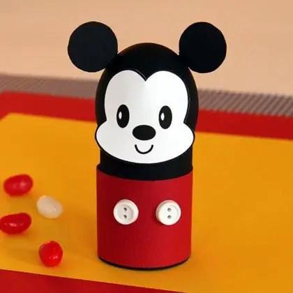 Como hacer un Porta huevos de Mickey