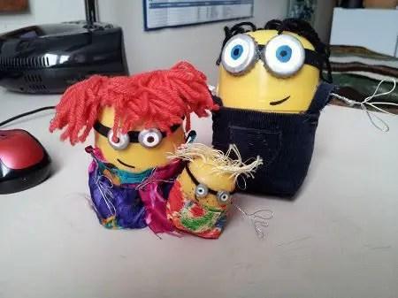 como hacer muñecos infantiles