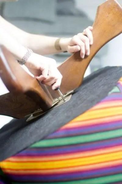 como tapizar un sillon