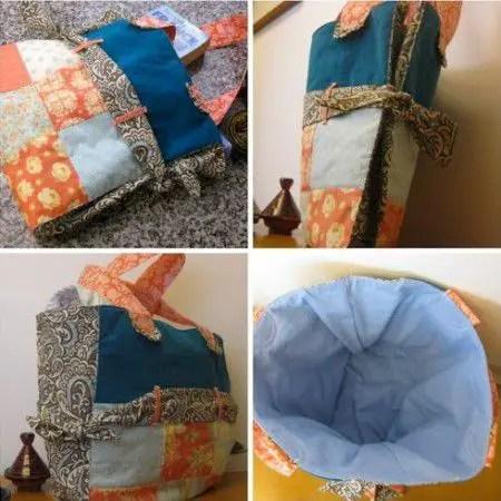 De todas las manualidades como hacer un bolso de tela expandible - Como hacer manualidades con tela ...
