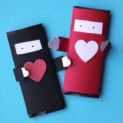 manualidades para el dia de san valentin para niños