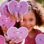 Como hacer titeres de mano para San Valentin