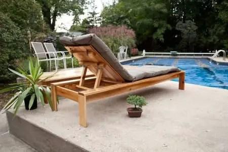 como hacer una reposera de madera