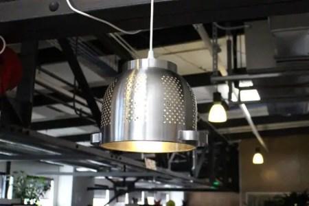 como hacer una lampara colgante casera