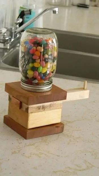 Como hacer un dispensador de dulces