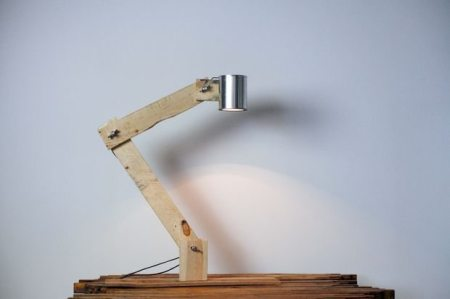 como hacer lamparas de mesa