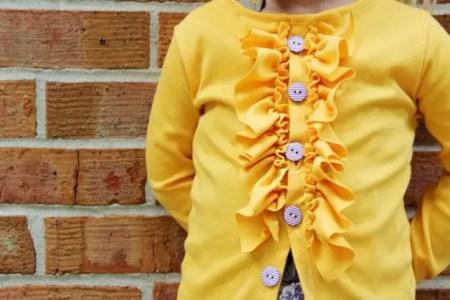 como hacer blusas para niñas
