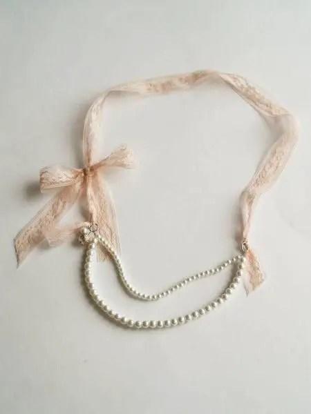 como hacer un collar de moda