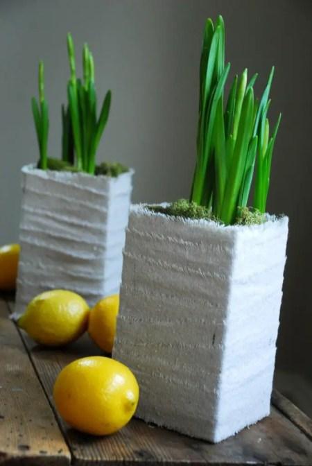 como hacer macetas reciclables