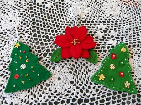como hacer adornos navideños para el arbol
