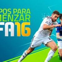 Equipos para comenzar FIFA 16
