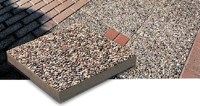 Backyard Hardscape Ideas Patio Patio Stone - Exposed Aggregate