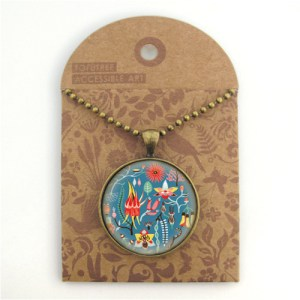 Tofutree Necklace 'Secret Garden'
