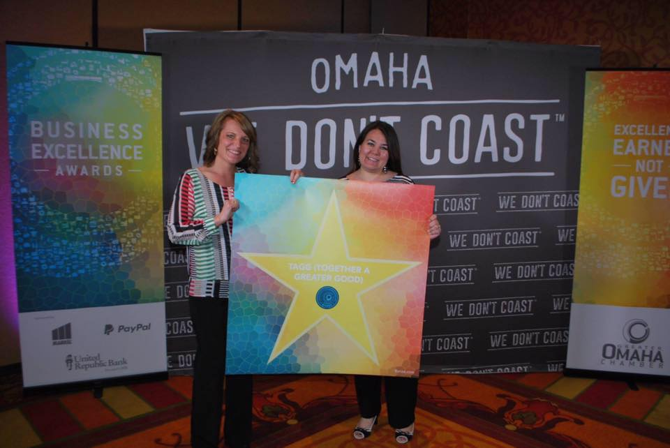 TAGG Receives Business Excellence Award from Omaha Chamber