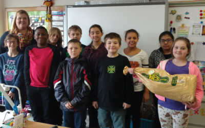 Florence Elementary took  on the Classroom Challenge