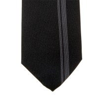 Hugo Boss Tie black silk 50161814 at Togged Clothing
